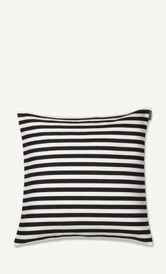tasaraita cushion cover black and white