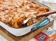 Paste cu pui la cuptor (CC Eng Sub) Chicken Pasta Bake, Romanian Food, How To Cook Pasta, Summer Recipes, Pesto, Food Videos, Macaroni And Cheese, Lasagna, Main Dishes