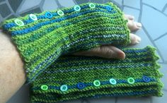Ravelry: Marie Curie Fingerless Mitts pattern by Fiona Wardingley