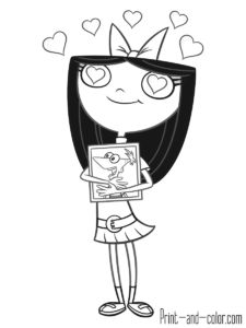 24 best phineas and ferb coloring pages images | phineas, ferb, coloring pages, color