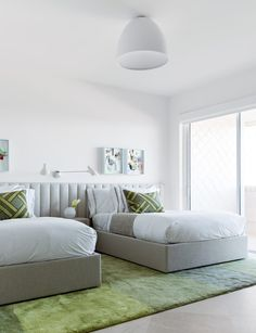 Child's bedroom in a Fisher Island beach home by Hinojosa Design Studio