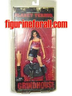 horror movie action figures | CHERRY FIGURE - NECA TOYS - MOVIE - ACTION - PLANET OF TERROR - HORROR ...