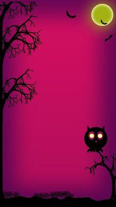 Wallpaper…By Artist Unknown… - Halloween Wallpaper Witch Wallpaper, Halloween Wallpaper Iphone, Holiday Wallpaper, Fall Wallpaper, Halloween Backgrounds, Wallpaper Backgrounds, Disney Halloween, Halloween Art, Holidays Halloween