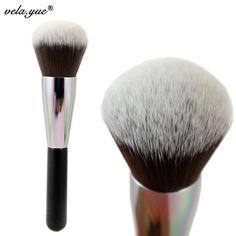 Pincel de Maquillaje profesional Cepillo Para Polvo de Cobertura Total Face Productos de Stock Claro