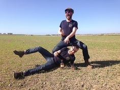 A choice pic from our trip to @kilchoman05  with @_simo_simo_ & @pmclovesyou What a place! #kilchoman #milroysofsoho #islay #islaylife #singlemalt #lovescotch #whisky #whiskyporn #islaywhisky #singlecask #machirbay #lochgorm #barley #barleyfields #scotch #scotchlover #soho #chesterofsoho