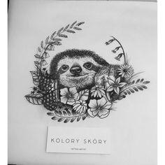 sloth by kolory skóry