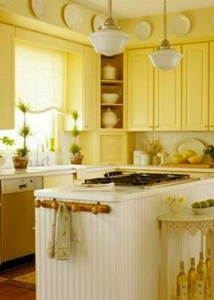 innovative yellow kitchen wall paint ideas | 56 Best Kitchen Paint & Wallpaper Ideas images | Kitchen ...