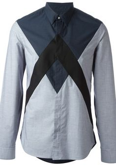 Kenzo for Men - Designer Clothing 2014 - Farfetch Mens Designer Shirts, Designer Clothes For Men, Designer Clothing, Luxury Fashion, Man Fashion, Fashion Design, Men's Wardrobe, Collar And Cuff, Designer Collection