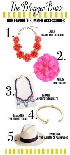 @Lauren Davison @ La Petite Fashionista Thanks for including our Palomar Statement Necklace!