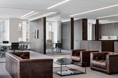New York, NY Fogarty Finger has worked closely with the client to completely re-brand this Third Avenue commercial building. New state-of-the-art office space as well as extensive and unique ameni…