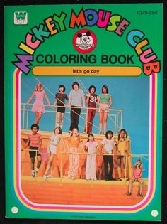Mickey Mouse Club: Let's Go Day Coloring Book, 1977