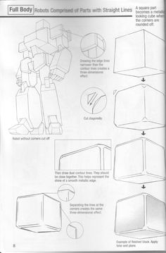 Robot Concept Art, Armor Concept, Manga Drawing Tutorials, Art Tutorials, Zoids, Drawing Block, Robot Sketch, Robots Drawing, Art Basics