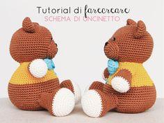 Amigurumi Schemi Italiano Gratis : Amigurumi a uncinetto per bambini manuale con spiegazioni base e