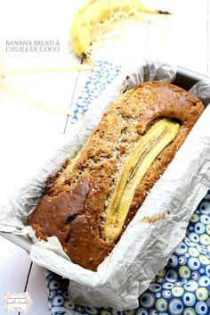   Banana bread au coco sans beurre   A l'huile de coco © Les Gourmands {disent} d'Armelle