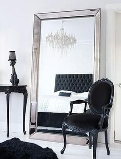 Interior designs with free standing mirrors Interiordesignshome.com