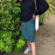 "sophie elliott's Instagram profile post: ""tara took this so i could see if my outfit was too grandma chic, the verdict: absolutely."" The Verdict, My Outfit, Profile, Chic, Skirts, Outfits, Instagram, Fashion, User Profile"