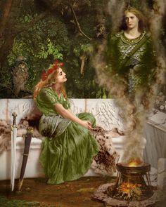 Tuatha Dé Danann The Fomorian Giants, Burial Mounds and Fairies