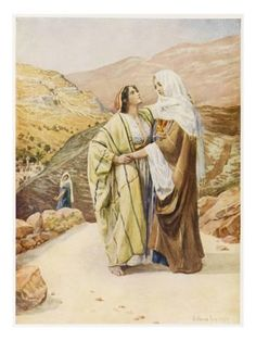 Ruth and Naomi, one of my favorite Bible stories Bible Art, Bible Scriptures, Book Of Ruth, La Sainte Bible, Moise, Bible Pictures, Biblical Art, Bible Stories, Before Us