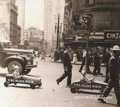 Sao Paulo in the 40s, 50s & 60s.: Cine Ritz-Consolacao & Cine Trianon