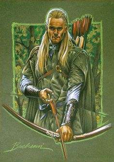 Legolas by ~Buchemi on deviantART ~ LOTR