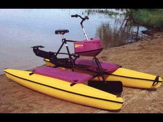 Get in a little exercise and rent a hydro bike