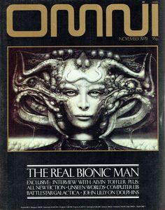 "Omni magazine november 1978 ""The Real Bionic Man"""