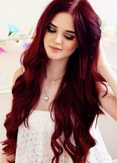 Red hair color ideas 2017 - http://trend-hairstyles.ru/1132.html #Hairstyles…