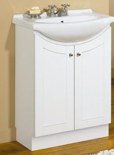 """Bathroom Vanity Ensembles this is the sink i want in my bathroom! magick woods 26"""" eurostone"""