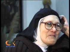 SISTER LUCIA FROM FATIMA INTERVIEW 1957 - YouTube