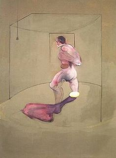 Francis Bacon - Study from the Human Body, 1988
