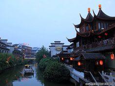 Nanjing-the capital of Jiangsu province.