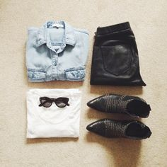 Awesome outfit idea!! Hot stuff!