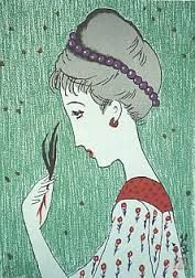Yumeji Disney Characters, Illustration, Drawings, Painting, Retro, Art, Artsy, Humanoid Sketch, Pop Art