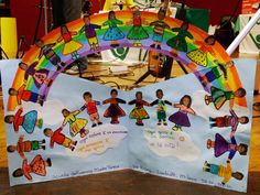 L'arcobaleno di bambini All Saints, Crafts For Kids, Birthday, Geography, Blue Prints, Manualidades, Art, Nursery School, Day Care