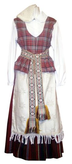 Lithuanian folk costume Folk Costume, Costumes, Ice Queen Costume, Folk Clothing, Scandinavian Fashion, Embroidered Tunic, Traditional Dresses, Textile Design, Summer Outfits