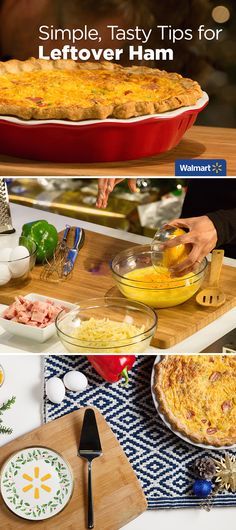 Simple, Tasty Tips for Leftover Ham | Walmart—Find quick, tasty ways to transform leftover Christmas ham into delicious breakfasts or hearty soups at Walmart.com!