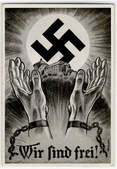 "German  WW2   ""We are Free!"""