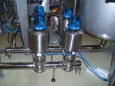 Automatización de electro válvulas en acero inoxidable