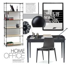"""Home Office"" by lovethesign-eu ❤ liked on Polyvore featuring interior, interiors, interior design, home, home decor, interior decorating, Pedrali, Nyta, home office and office"