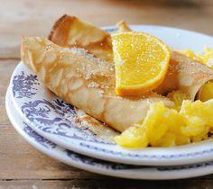 Clătite cu bere şi portocale | Retete culinare - Romanesti si din Bucataria internationala