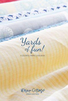 interior design fabrics - Maine cottage, Paint fabric and Maine on Pinterest