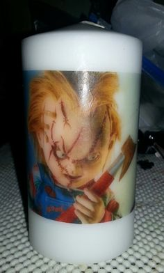 Check out this item in my Etsy shop https://www.etsy.com/listing/217318052/chucky-childs-play-55-inch-unscented