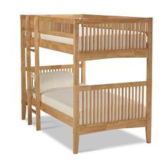 Arts & Crafts Dark III Furniture Twin Bunk Bed - An option for your college dorm room Bunk Bed With Trundle, Twin Bunk Beds, Kids Bunk Beds, Loft Beds, Kids Bedroom Furniture, Kids Furniture, Furniture Design, Bedding Master Bedroom, Value City Furniture