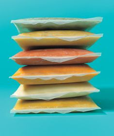 Save space in your freezer by storing soup flat in zippered plastic bags.