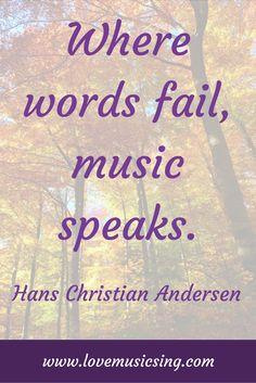 #HansChristianAnderson #music #quote #musicquote #musicquotes