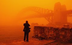 Dust storm over Sydney