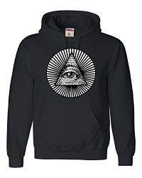 Adult Eye Of Providence All Seeing Eye Sweatshirt Hoodie   Gothic Dress Code