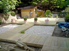raised+walkway | Fencing, Decking, Patios and Planting | Gallery of garden work from ...