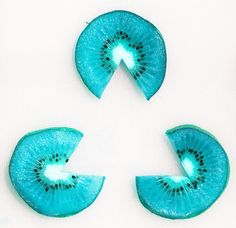 blue kiwi triangle