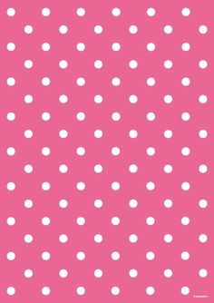Hot pink polka dot wrapping paper wrap it в 2019 г. fundos d Polka Dot Background, Paper Background, Background Patterns, Pink Wallpaper, Pattern Wallpaper, Iphone Wallpaper, Scrapbook Paper, Scrapbooking, Image Deco
